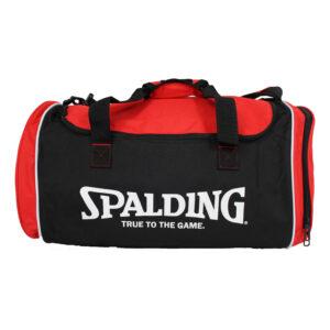 Spalding Tube Sportsbag Red vrijstaand